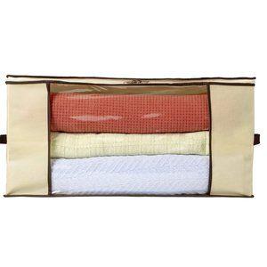 Transparent Window Clothes + Linen Storage Bag